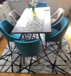 A Zanzibár szék Xénia asztal találkozása tökéletes párosításnak bizonyult már több család otthonában.