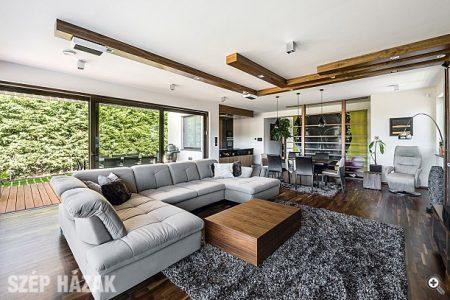 Szürke színű Madrid u alakú ülőgarnitúra - Bútoraink otthonokban