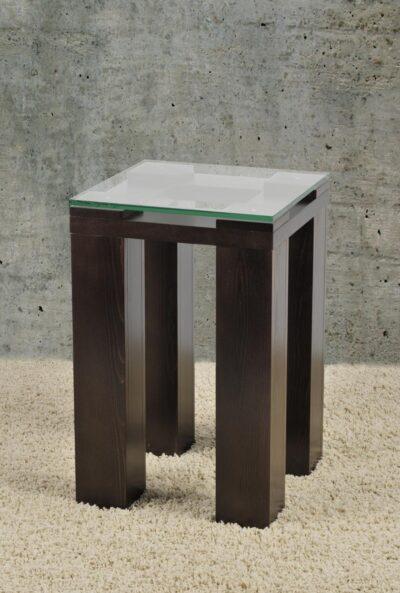 POWER üveges konzolasztal