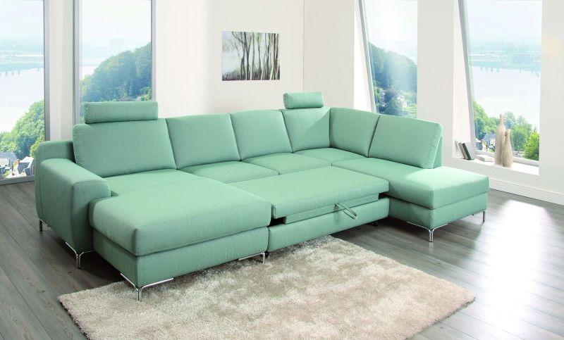 ADA BRÜSSEL ÜLŐGARNITÚRA L ALAKÚ, zöld, türkiz - RIO art & Design