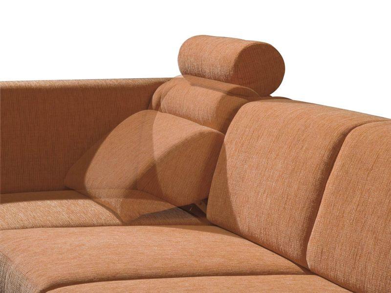 ADA COMBI ülőgarnitúra kedvelt nyugat-európai modell. Az ADA COMBI sarokülőgarnitúra fejtámasszal előnyös választás.