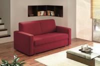ADA Flexy ággyá nyitható kanapé piros színben