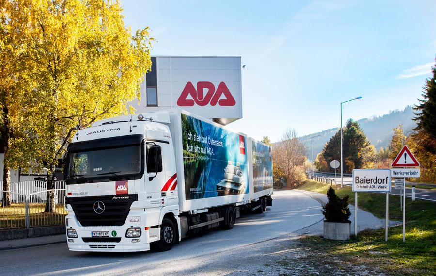 Szállítási információk - A cég nem csak gyárt a magyar piacra, de négy üzeméből kettő Magyarországon található.