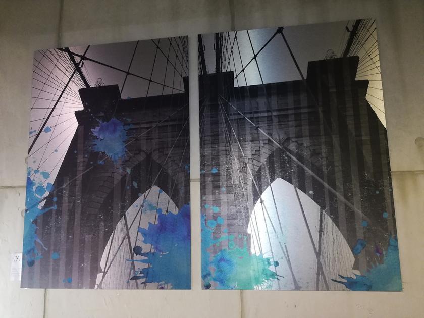 """SVIA GALLERY: """"BROOKLYN BRIDGE I-II."""""""