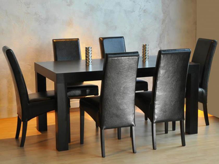 Hool étkezőasztal és Bangkok szék, cégünk egyedi terméke.