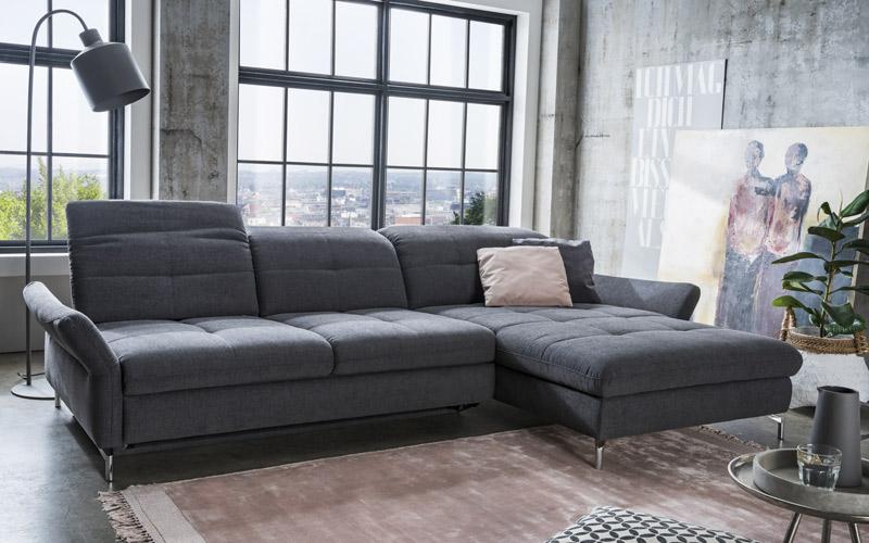 Bronx Comfort ággyá nyitható, L sarok ülőgarnitúra