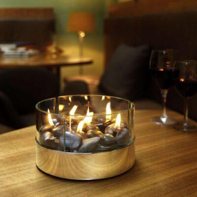 Burn asztali kandalló