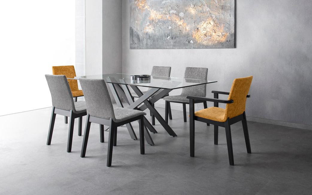 Taima asztal Dortmund szék Dortmund karszék