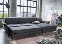 Bronx Comfort ággyá nyitható, L alakú sarok ülőgarnitúra