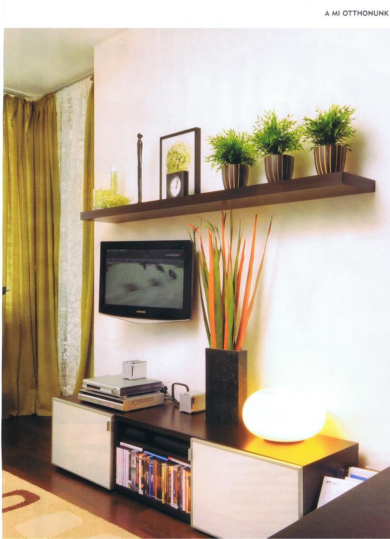Egyedi tv-szekrény, egyedi polccal