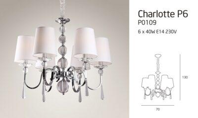 CHARLOTTE P0109 LÁMPA