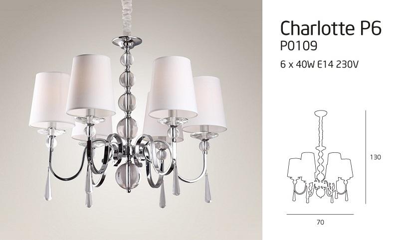 CHARLOTTE P6 LÁMPA
