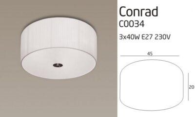CONRAD C lámpa