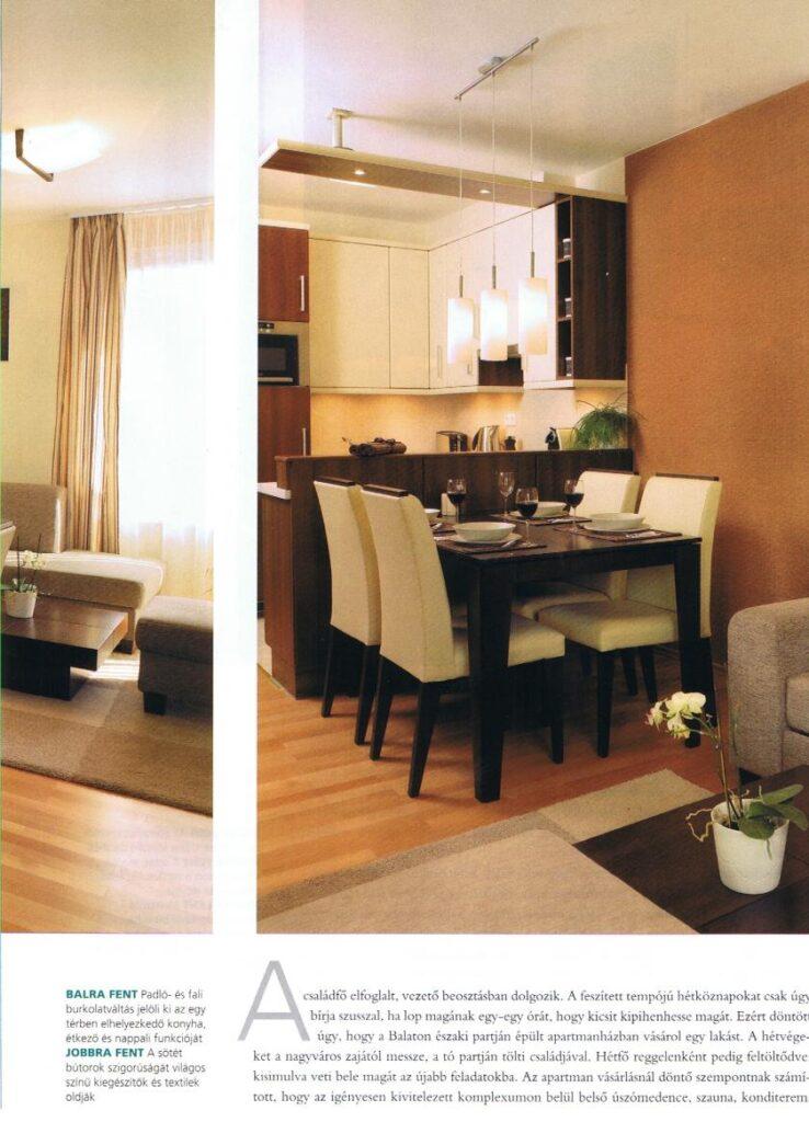 Bútoraink otthonokban - Egyedi étkezőasztalok bármilyen lakásban