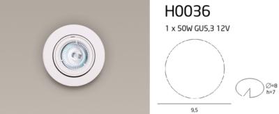 H0036 LÁMPA