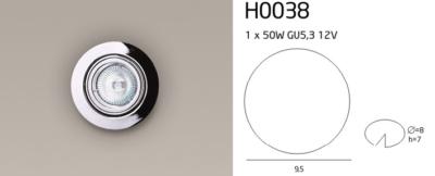 H0038 SPOT LÁMPA