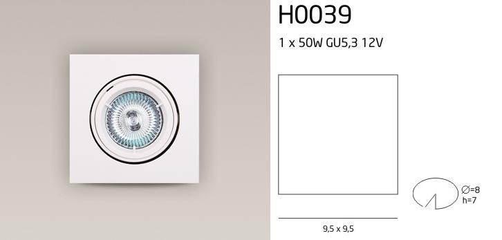 H0039 SPOT LÁMPA