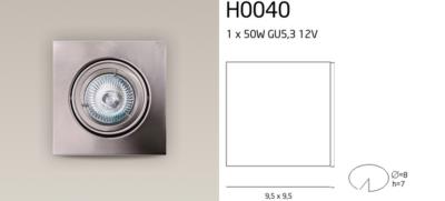 H0040 SPOT LÁMPA