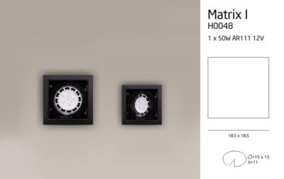 MATRIX I H0048 LÁMPA