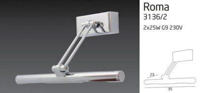 ROMA 3136/2 lámpa
