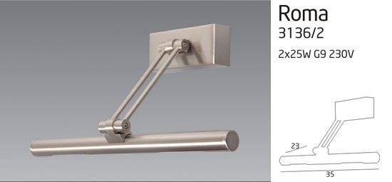 ROMA lámpa