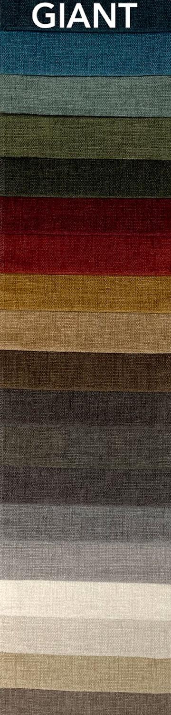 Giant bútorszövet szín- és anyagminta