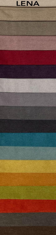 Lena bútorszövet szín- és anyagminta