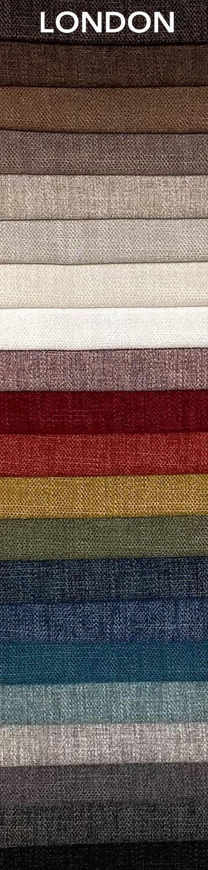 London bútorszövet szín- és anyagminta