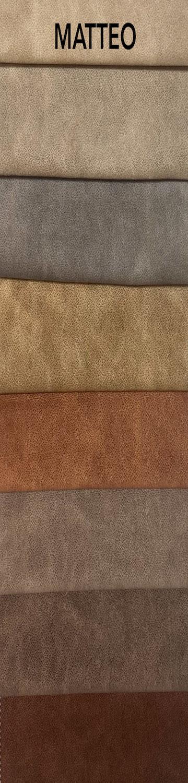 Matteo bútorszövet szín- és anyagminta