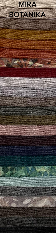 Mira-Botanika bútorszövet szín- és anyagminta