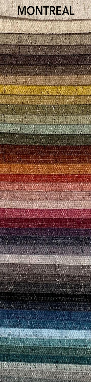 Montreal bútorszövet szín- és anyagminta