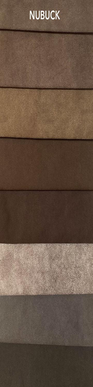 Nubuck bútorszövet szín- és anyagminta