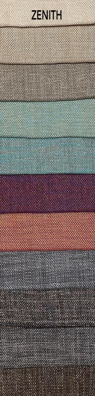 Zenith bútorszövet szín- és anyagminta