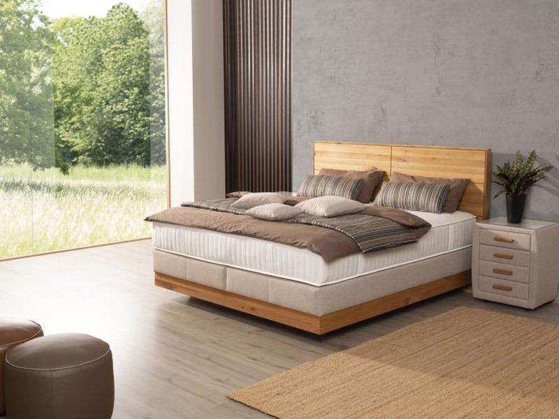 Az ADA Prémium Chalet ágy minimalista hálószobában