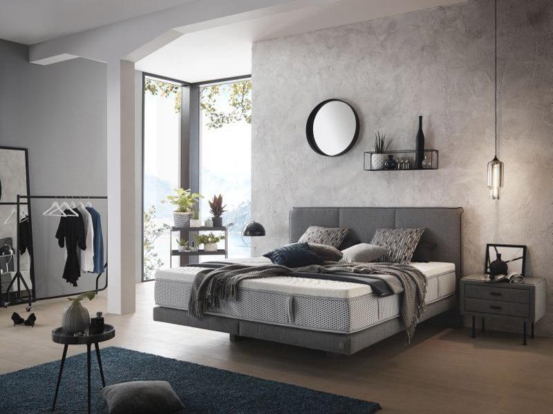 Első szemrevételezésre az ADA Prémium Levia franciaágy a kortalan letisztult dizájnnal tűnik ki a hálószobában. Igazi minőségi, luxus termék.