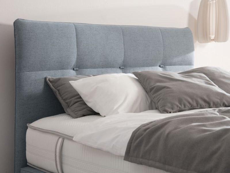Az ADA Prémium Teana franciaágy szögletes formái tökéletesen passzolnak egy minimalista környezetbe.