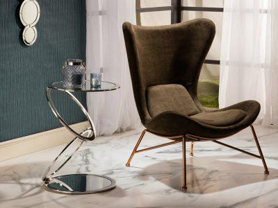 Aros ezüst színű kisasztal 287753