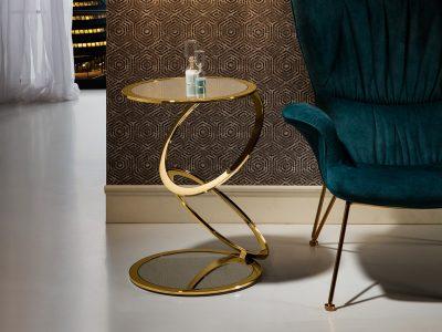 Aros aranyszínű kisasztal 287760