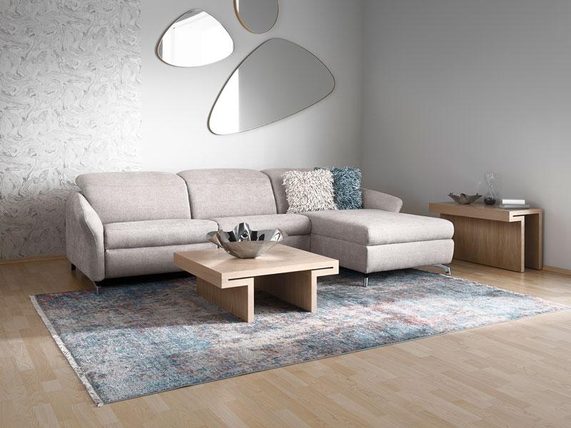 Az ADA Milano ülőgarnitúra megrendelésekor választható egymotoros, kétmotoros vagy manuális relax funkció is.