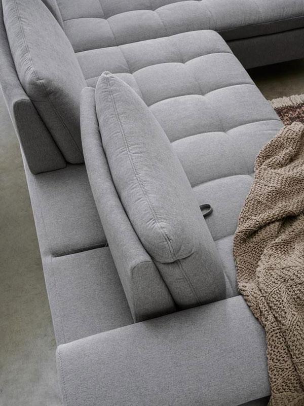 Az ADA Genova ülőgarnitúra legnagyobb előnye, hogy többféle változatban is megvásárolható.