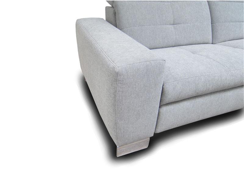 ADA Milano ülőgarnitúra A karfa: széles változat lábbal kiegészítve.
