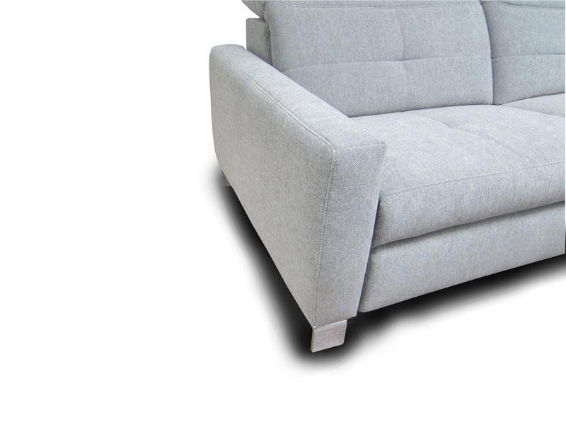 ADA Milano ülőgarnitúra C karfa: keskeny változat lábbal.