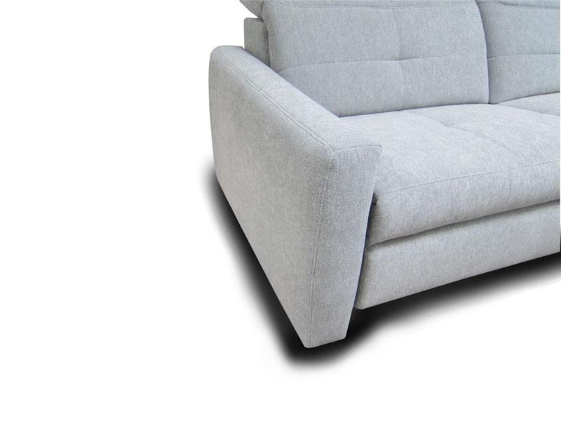 ADA Milano ülőgarnitúra D karfa: keskeny változat láb nélkül.