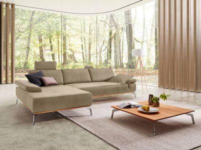 ADA Prémium Talara L alakú ülőgarnitúra pihenőkanapéval