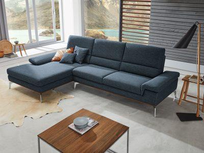 ADA Prémium Tirano L alakú ülőgarnitúra pihenőkanapéval