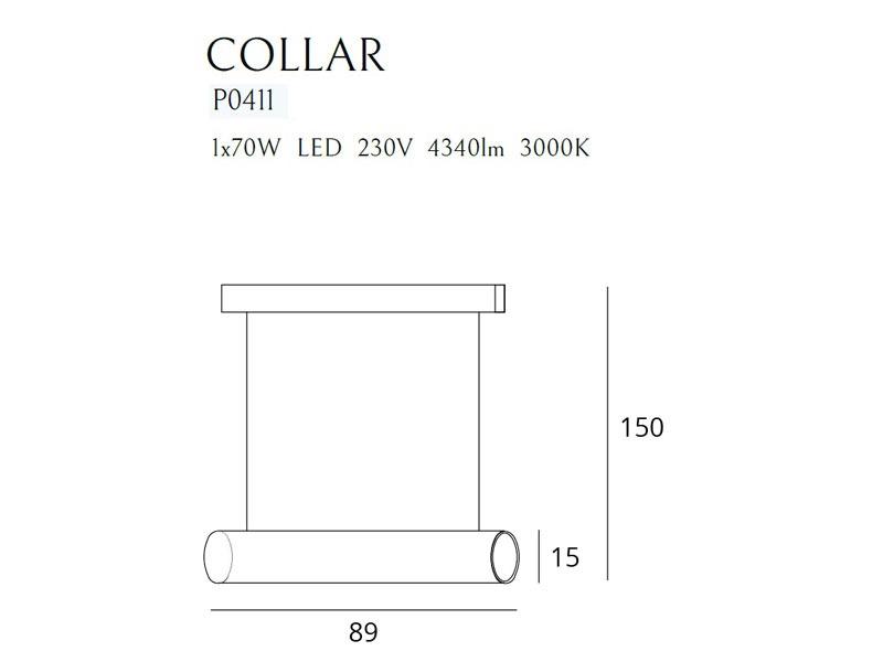 Collar függeszték P0411