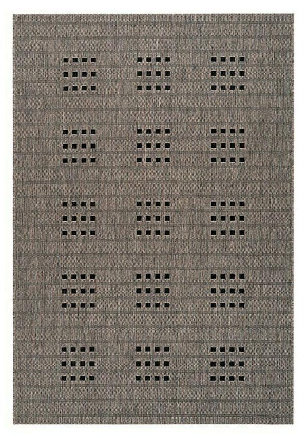 A Lalee Home Sunset SUS 606 taupe szőnyeg egy beltéri és kültéri használatra is alkalmas modern szőnyeg.