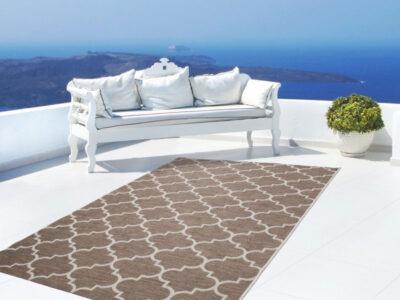 SUNSET SUS 604 Bézs szőnyeg marokkói mintával